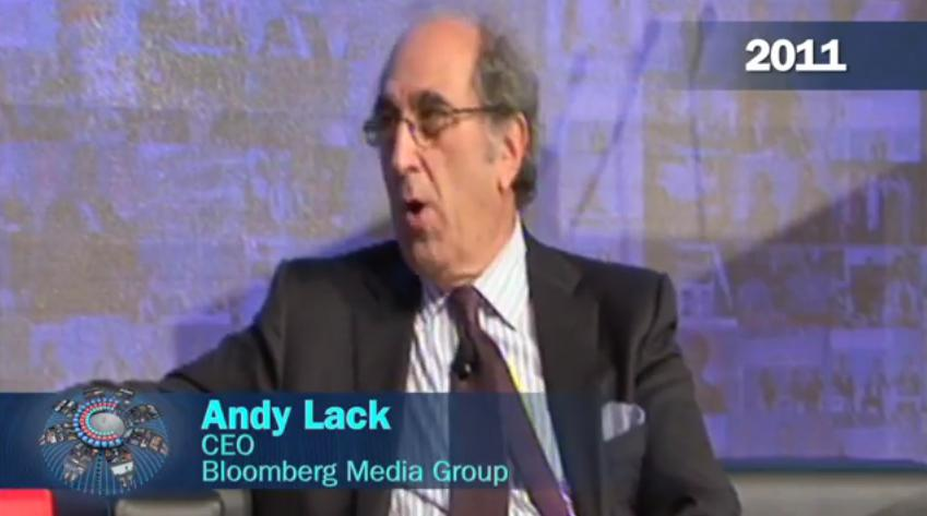 Andy Lack, Bloomberg Media Group (2011)