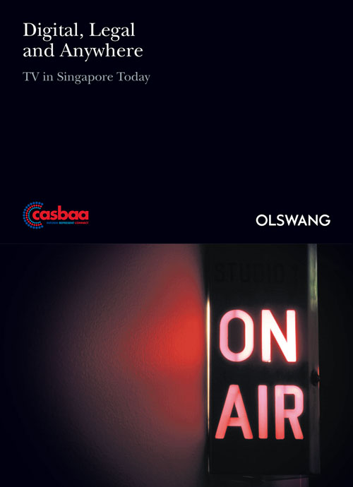 Digital, Legal and Anywhere TV in Singapore Today cover image