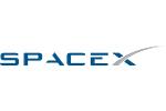 5K SpaceX Logo Blue Grey (png)