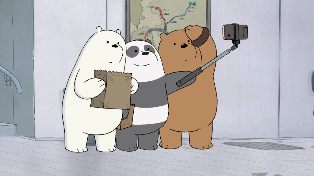 Cartoon Network-We Bare-Bears-Selfie